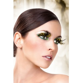 Eyelashes Baci Yellow Feather Eyelashes Be627