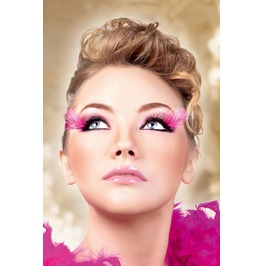 Eyelashes Baci Black Purple Feather Eyelashes Be606