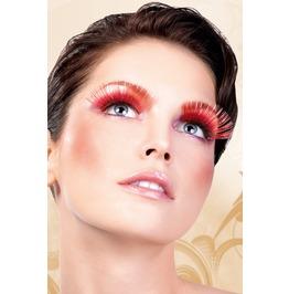 Eyelashes Baci Red Glitter Eyelashes Be554