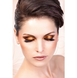 Eyelashes Baci Black Brown Deluxe Eyelashes Be548