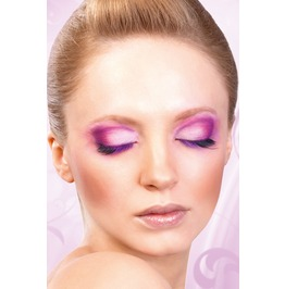 Eyelashes Baci Black Purple Deluxe Eyelashes Be539