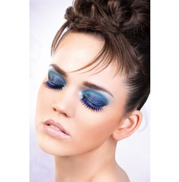 Eyelashes Baci Blue Purple Deluxe Eyelashes Be523