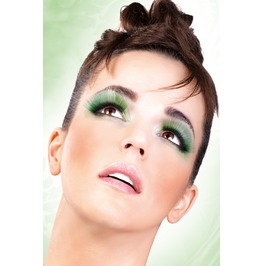 Eyelashes Baci Light Green Glitter Eyelashes Be522
