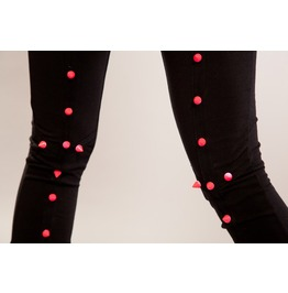 Full Spike Leggings Pink Heartless