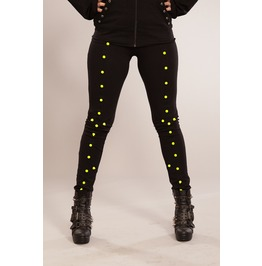Full Spike Leggings Green Heartless