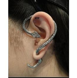 Winding Snake Ear Cuff High Quality Silver