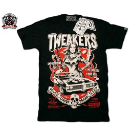 Liquor Brand Tweakers Sexy Pin Switchblade T Shirt