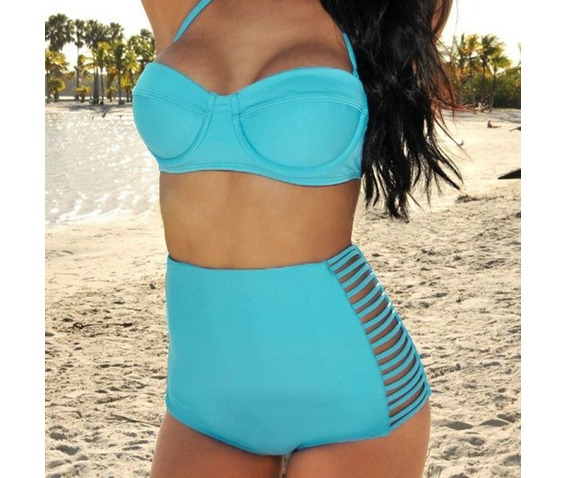 retro_push_up_black_blue_orange_high_waist_triangle_top_bikini_swimsuit_swimwear_3.JPG
