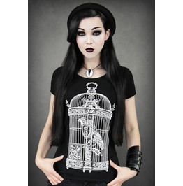 Women Fashion Print Punk Style T Shirt