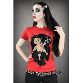 Killed Bear Print Punk Women Tops T Shirt Fashion Tee