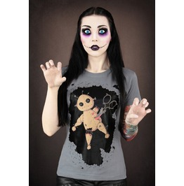 Killed Bear Punk Women Tops T Shirt Fashion Tee