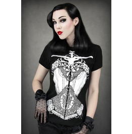 Vintage Print Style Women T Shirt