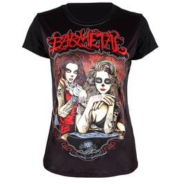 Punk Style Sexy Women Print T Shirt Fashion Women Tops