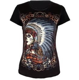 Indian Style Tribal Print Women T Shirt Fashion Women Tops
