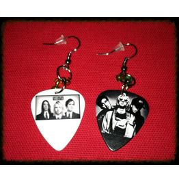 Nirvana Guitar Pick Earrings