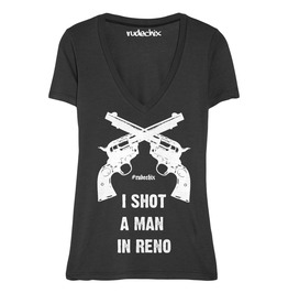 I Shot A Man In Reno V Neck