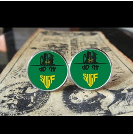 Charlie Don't Surf/Apocalypse Now Kilgore Quote Cuff Links Men, Weddings,Grooms, Groomsmen,Gifts,Dads,Graduations