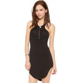 Sexy Sleeveless Black Short Dress