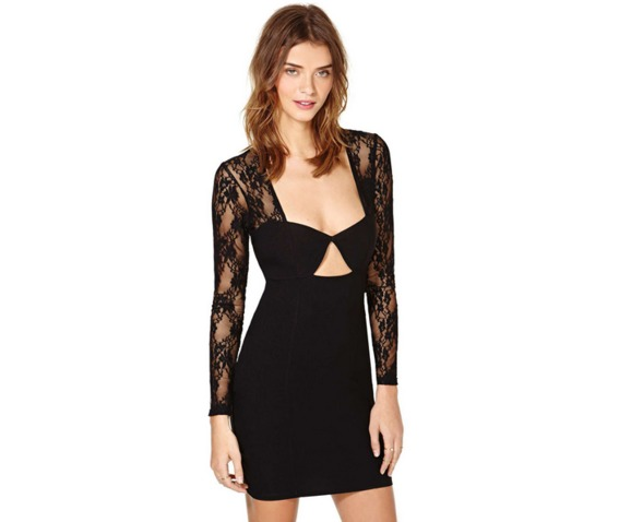 sexy_deep_neckline_long_sleeves_lace_slim_fit_black_dress_dresses_6.PNG