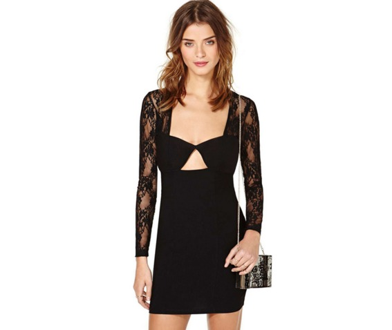 sexy_deep_neckline_long_sleeves_lace_slim_fit_black_dress_dresses_5.PNG