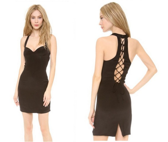 sexy_deep_neckline_multi_string_back_slim_fit_black_dress_dresses_5.PNG