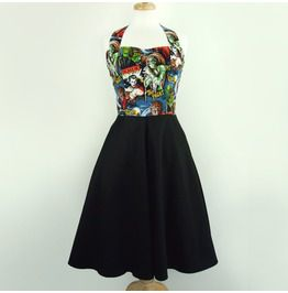 Pinup Monsters Swing Dress