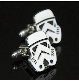 10% Code:Xmas14 Star Wars Cufflinks Stormtrooper Cufflinks Imperial Stormtrooper Cufflinks Star Wars Cosplay Manga