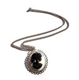 Black White Day Dead Necklace