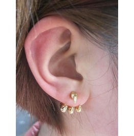 Claw Ear Cuff Earring Gold
