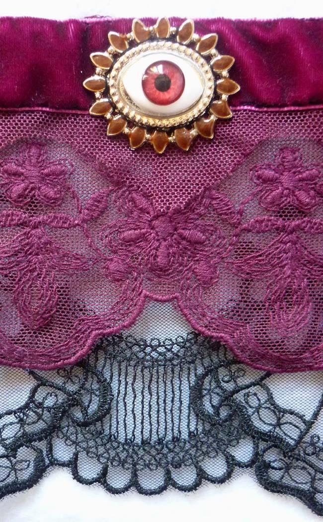 the_third_eye_cuff_bracelet_lace_black_plum_prune_steampunk_gothic_wedding_art_nouveau_esoteric_mystic_edwardian_dark_mori_macabre_wedding_bracelets_6.JPG