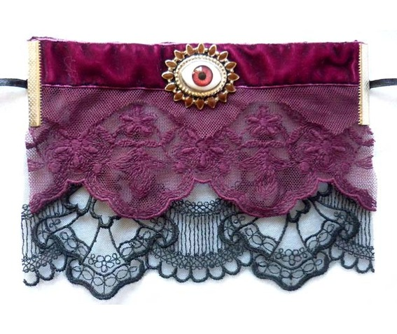 the_third_eye_cuff_bracelet_lace_black_plum_prune_steampunk_gothic_wedding_art_nouveau_esoteric_mystic_edwardian_dark_mori_macabre_wedding_bracelets_5.JPG
