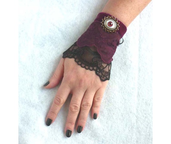 the_third_eye_cuff_bracelet_lace_black_plum_prune_steampunk_gothic_wedding_art_nouveau_esoteric_mystic_edwardian_dark_mori_macabre_wedding_bracelets_4.JPG