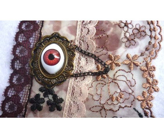 the_automatons_eye_steampunk_cuff_bracelet_lace_gothic_wedding_eyeball_brown_taxidermy_bracelets_5.JPG