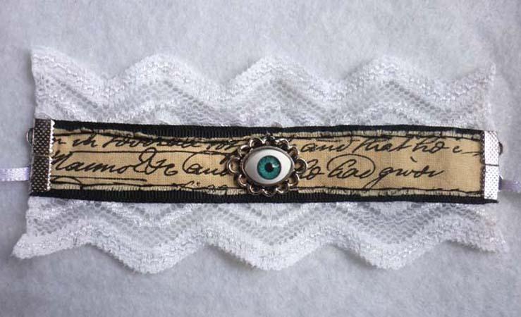 victorian_scripted_eye_little_cuff_bracelet_lace_black_white_steampunk_gothic_wedding_scripted_eyeball_bracelets_5.JPG