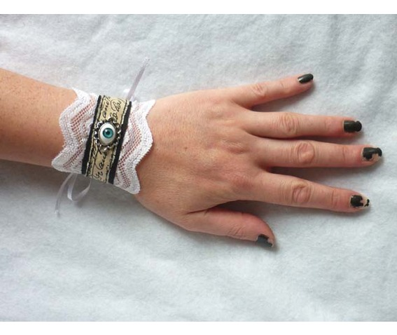 victorian_scripted_eye_little_cuff_bracelet_lace_black_white_steampunk_gothic_wedding_scripted_eyeball_bracelets_5.JPG