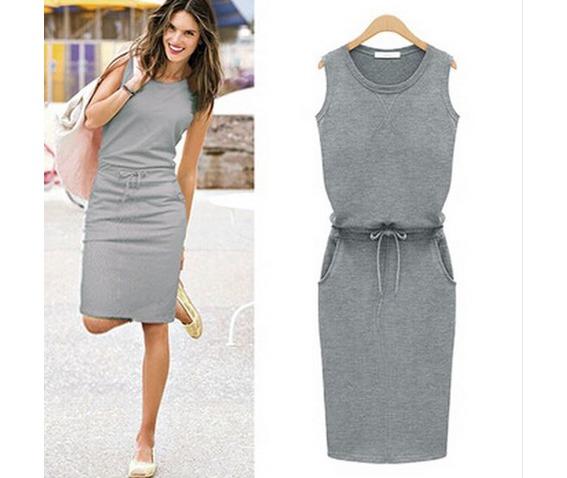 casual_sleeveless_tie_waist_side_pockets_grey_dress_dresses_3.JPG