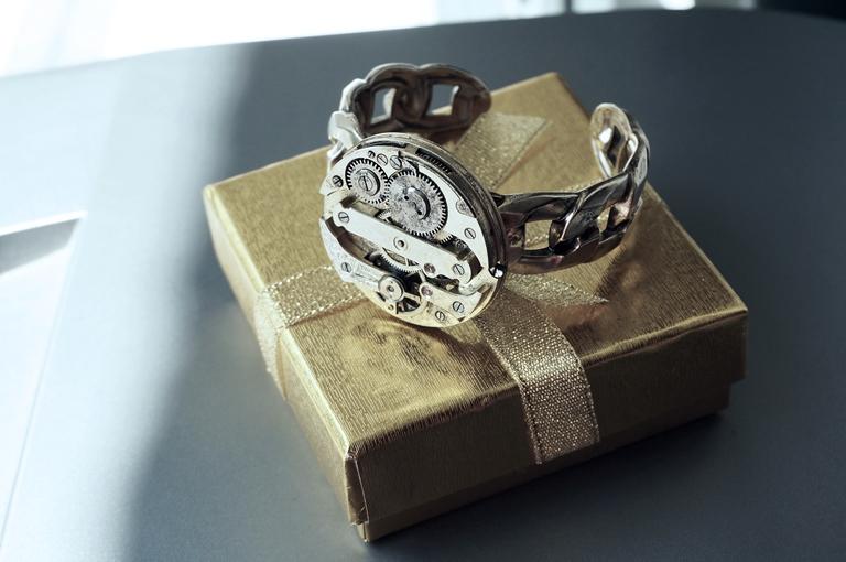 steampunk_bdsm_jewelry_cuff_brutal_metal_gilded_antique_vintage_watch_adjustable_bracelet_wedding_gorgeous_gift_man_woman_bracelets_4.JPG