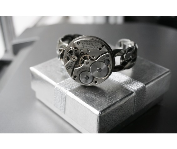 steampunk_bdsm_jewelry_cuff_brutal_metal_swiss_antique_vintage_watch_adjustable_bracelet_wedding_gorgeous_gift_man_woman_bracelets_6.JPG