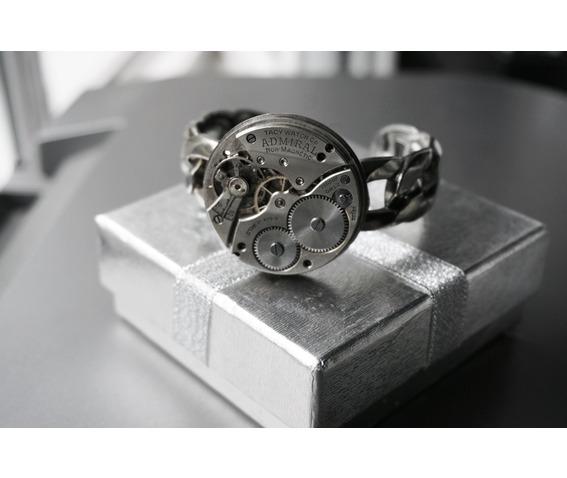 steampunk_bdsm_jewelry_cuff_brutal_metal_swiss_antique_vintage_watch_adjustable_bracelet_wedding_gorgeous_gift_man_woman_bracelets_6.JPG