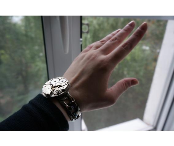 steampunk_bdsm_jewelry_cuff_brutal_metal_swiss_antique_vintage_watch_adjustable_bracelet_wedding_gorgeous_gift_man_woman_bracelets_3.JPG