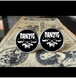 Danzig Logo Cuff Links Men, Weddings,Grooms, Groomsmen,Gifts,Dads,Graduations