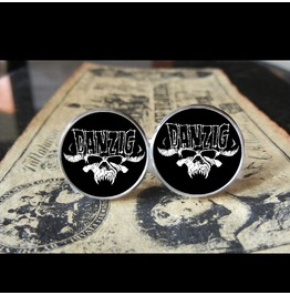 Danzig Logo #2 Cuff Links Men, Weddings,Grooms, Groomsmen,Gifts,Dads,Graduations