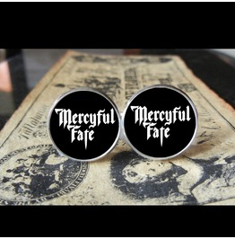 Mercyful Fate Logo Cuff Links Men, Weddings,Grooms, Groomsmen,Gifts,Dads,Graduations