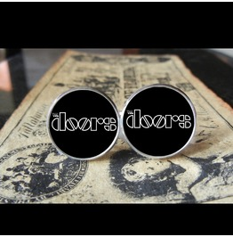 Doors Logo Cuff Links Men, Weddings,Grooms, Groomsmen,Gifts,Dads,Graduations