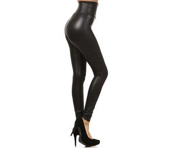 regular_plus_size_black_faux_leather_high_waist_fetish_wet_look_leggings_leggings_4.JPG