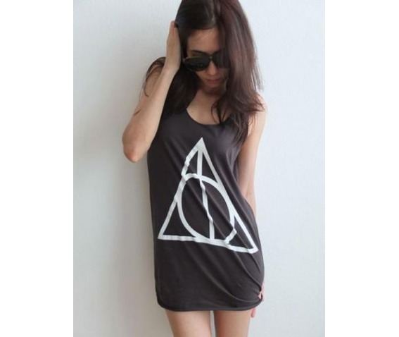 triangle_pattern_goth_punk_rock_vest_tank_top_m_shirts_3.JPG
