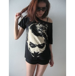 Joker Vintage Pop Rock Hand Cut T Shirt M