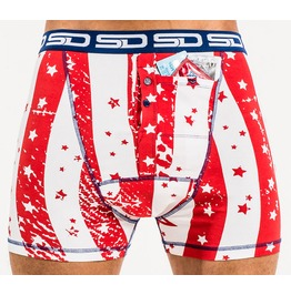 Star Spangled Smuggling Duds Boxer Shorts