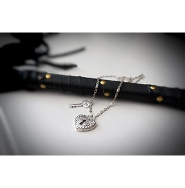 Beautiful Bdsm Pendant Gorgeous Gift Love Heart Feelings Birthday Anniversary Wedding Man Woman Metal Necklace