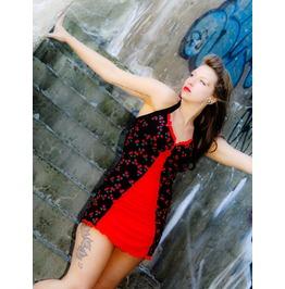 Cherry Print Rockabilly Swimsuit